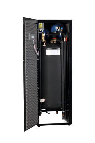 Drugim elementem pompy ciepła jest zbiornik CWU.