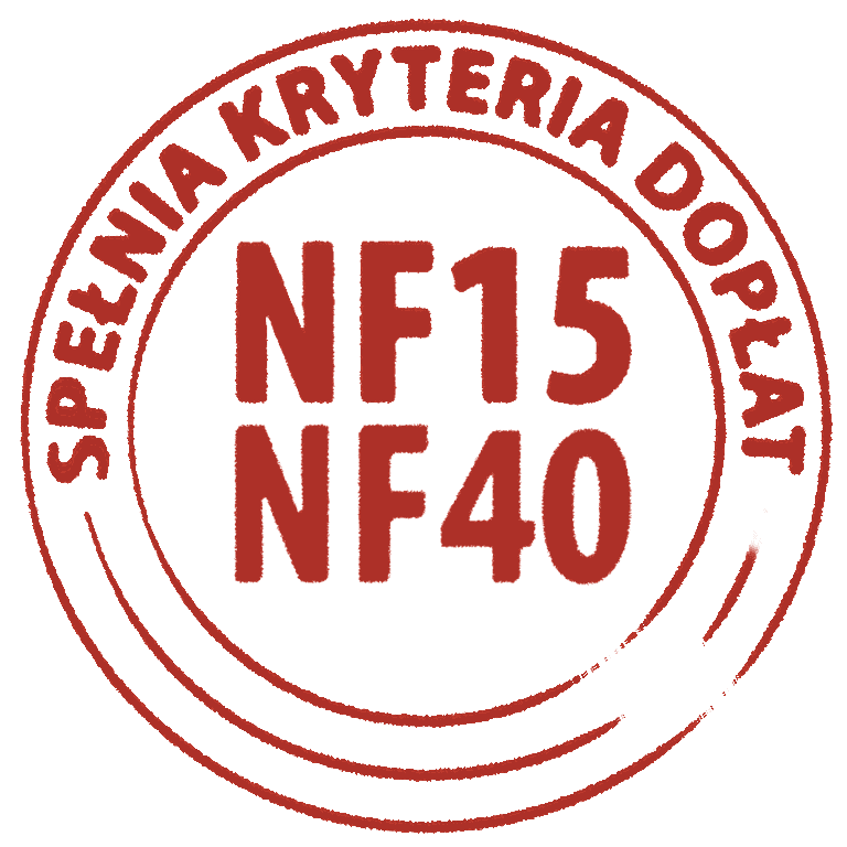 doplaty do budowy domu NF15 i NF40