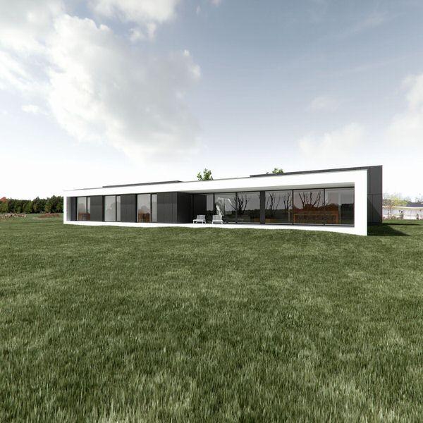 Dom bialo czarny 2