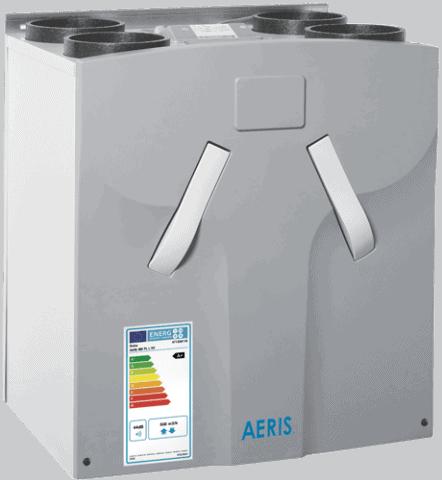 klasa efektywnosci energetycznej rekuperatora AERIS 450 luxe