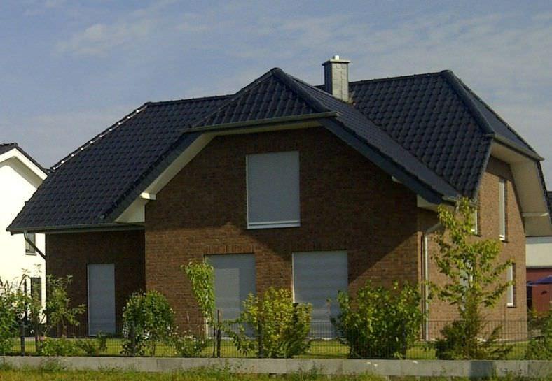 dom z piecem gazowym