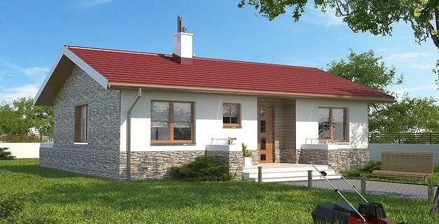 maly dom z rekuperacja