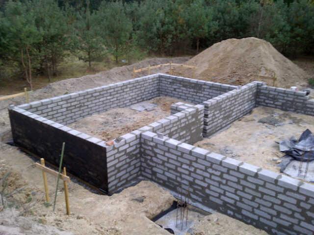 etap fundamenty w domu z rekuperacja