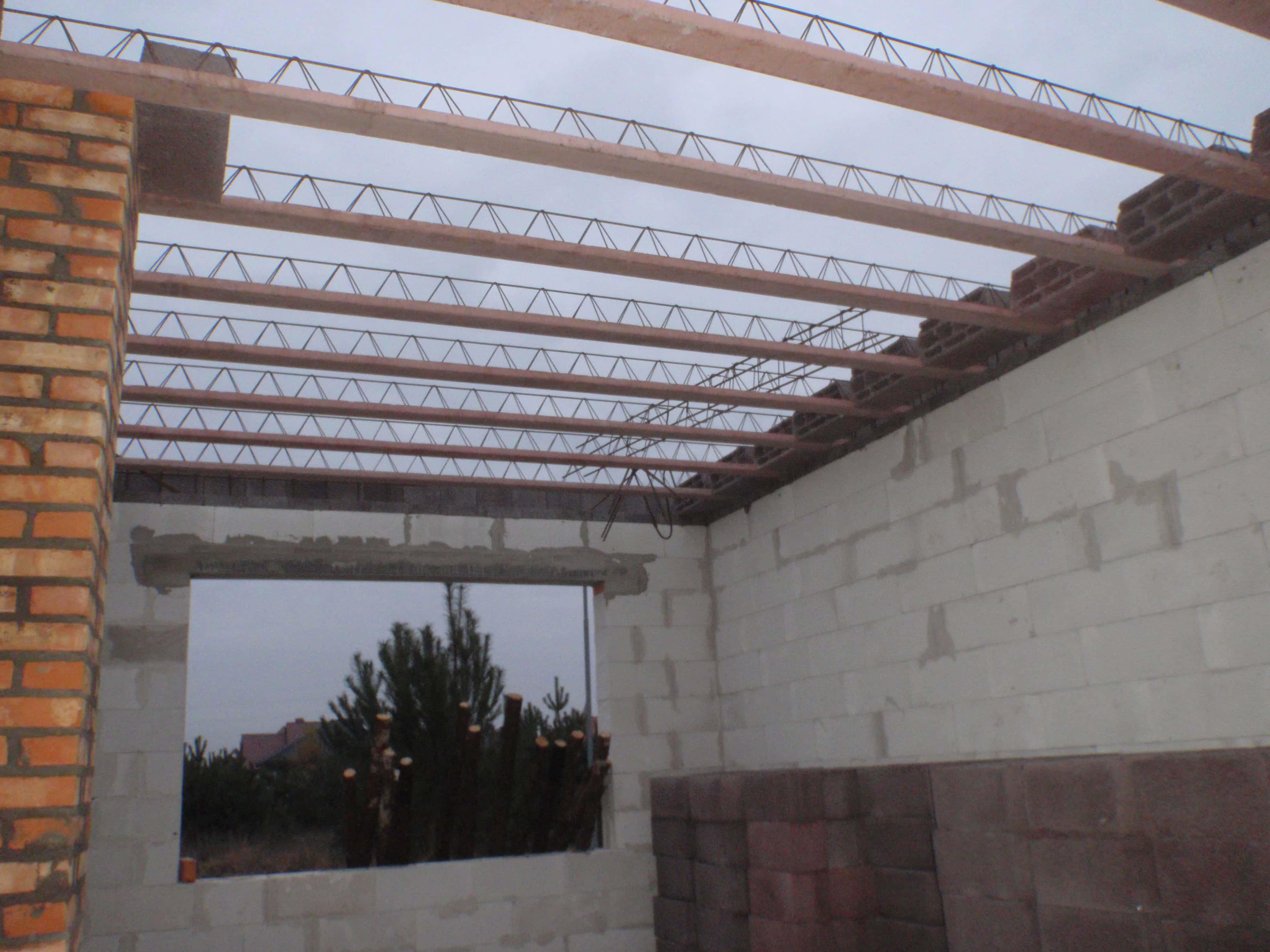 strop terriva w budynku z rekuperacja