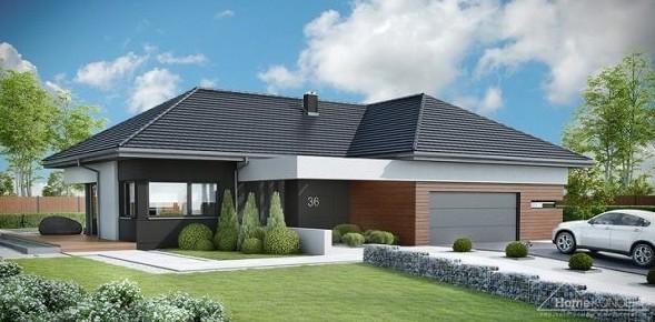 dom z rekuperacja home koncept