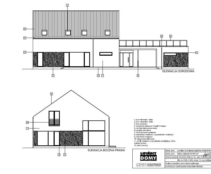 dom pasywny Lipinscy z rekuperacja