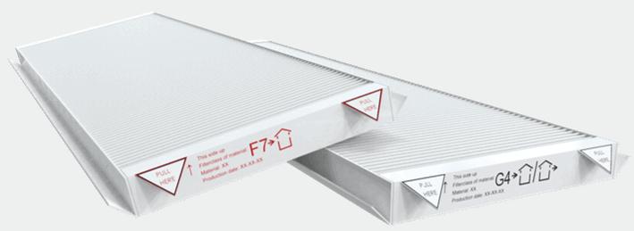 filtry G4 F7